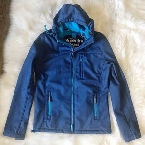 Superdry Hooded Windtrekker Size S